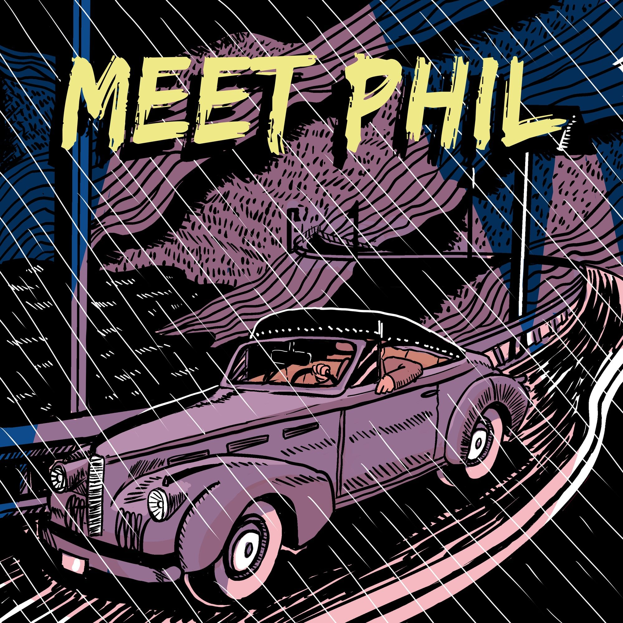 Meet Phil (Chapter 1, Part 1 of Murder in the Glass Room)