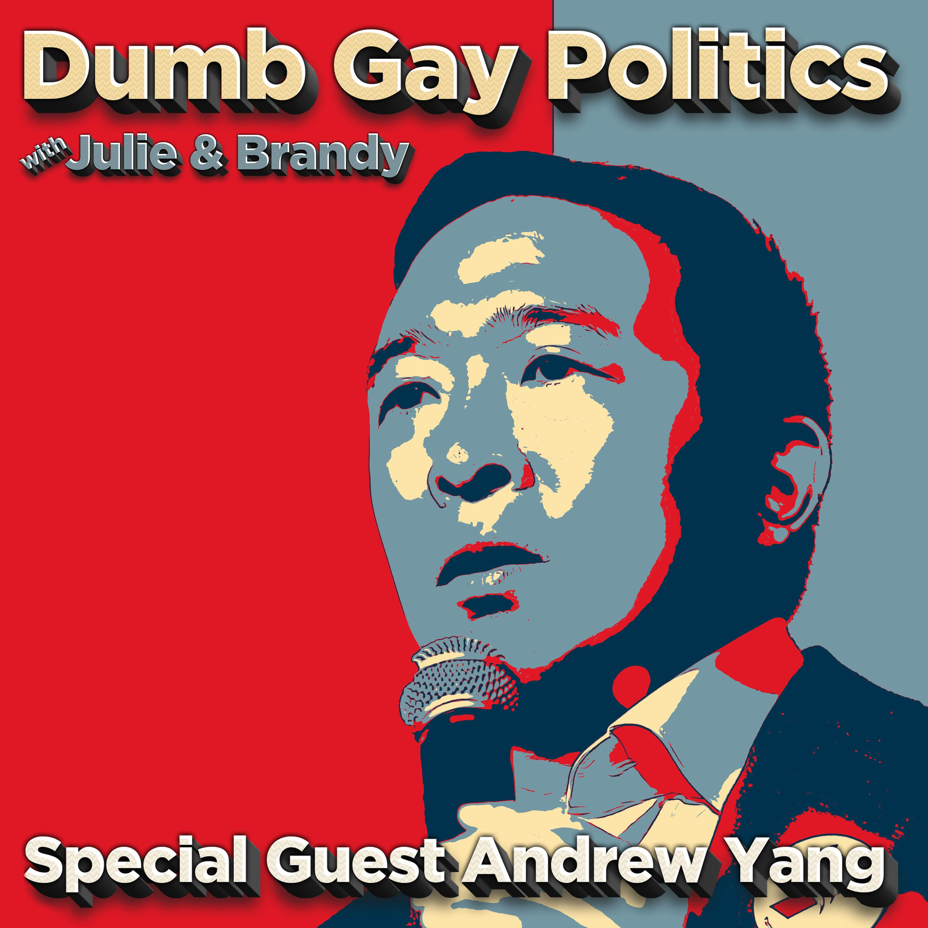 Andrew Yang on DGP!! (Literally. In person)