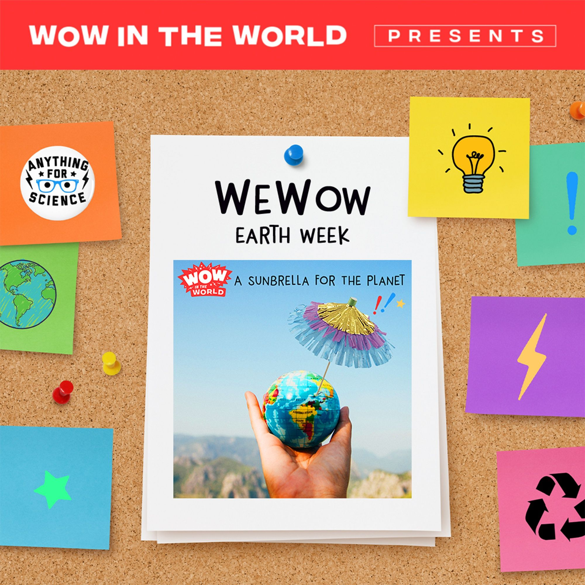 WeWow Earth Week Day 1: A Sunbrella For The Planet