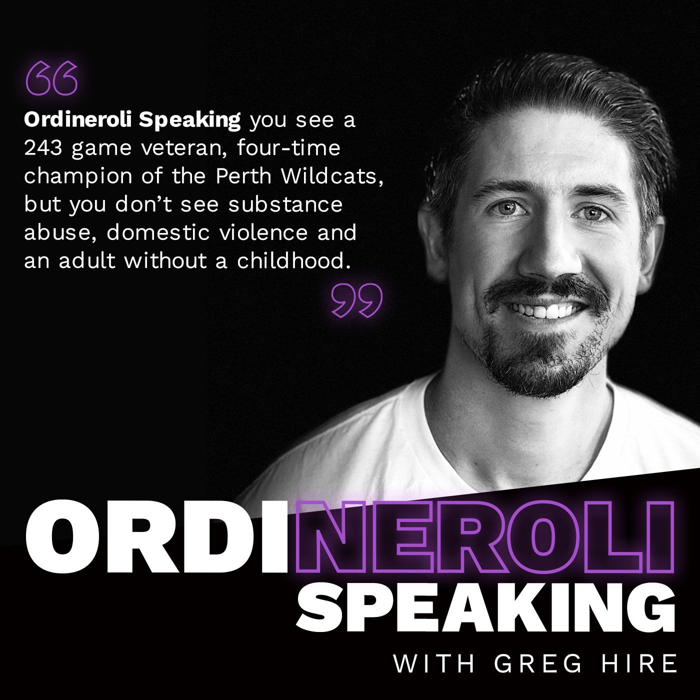 Greg Hire - Ordineroli Speaking