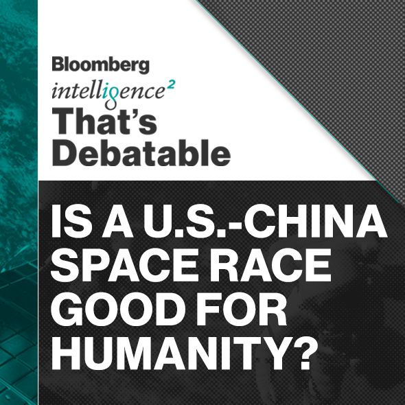 #186 - Is a U.S.-China Space Race Good for Humanity?