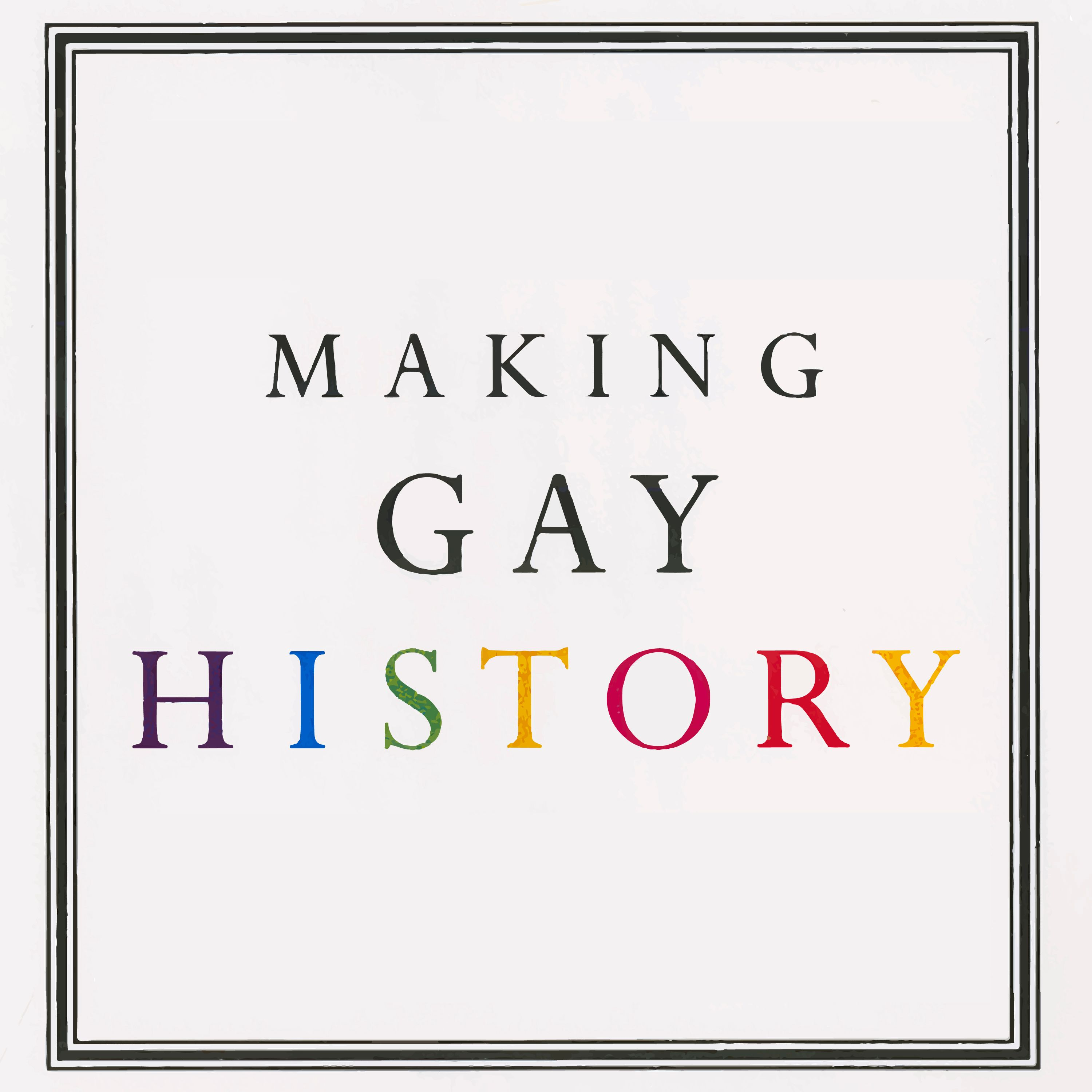 Making Gay History podcast cover image