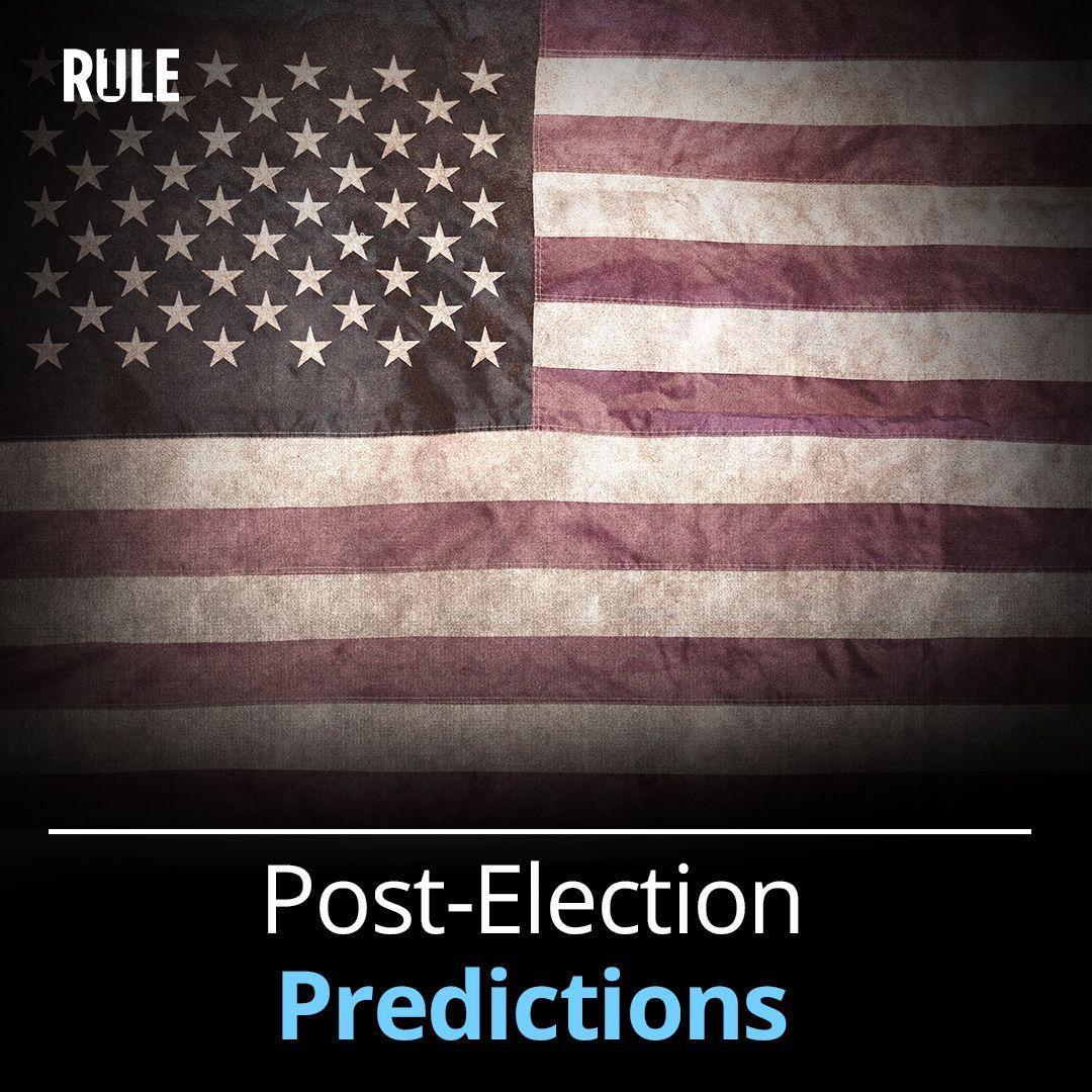 290- Post-Election Predictions