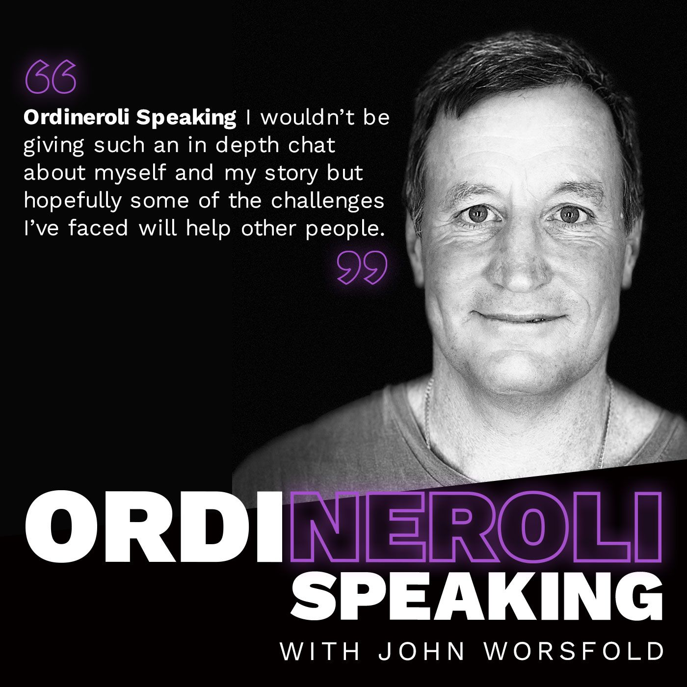 John Worsfold - Ordineroli Speaking