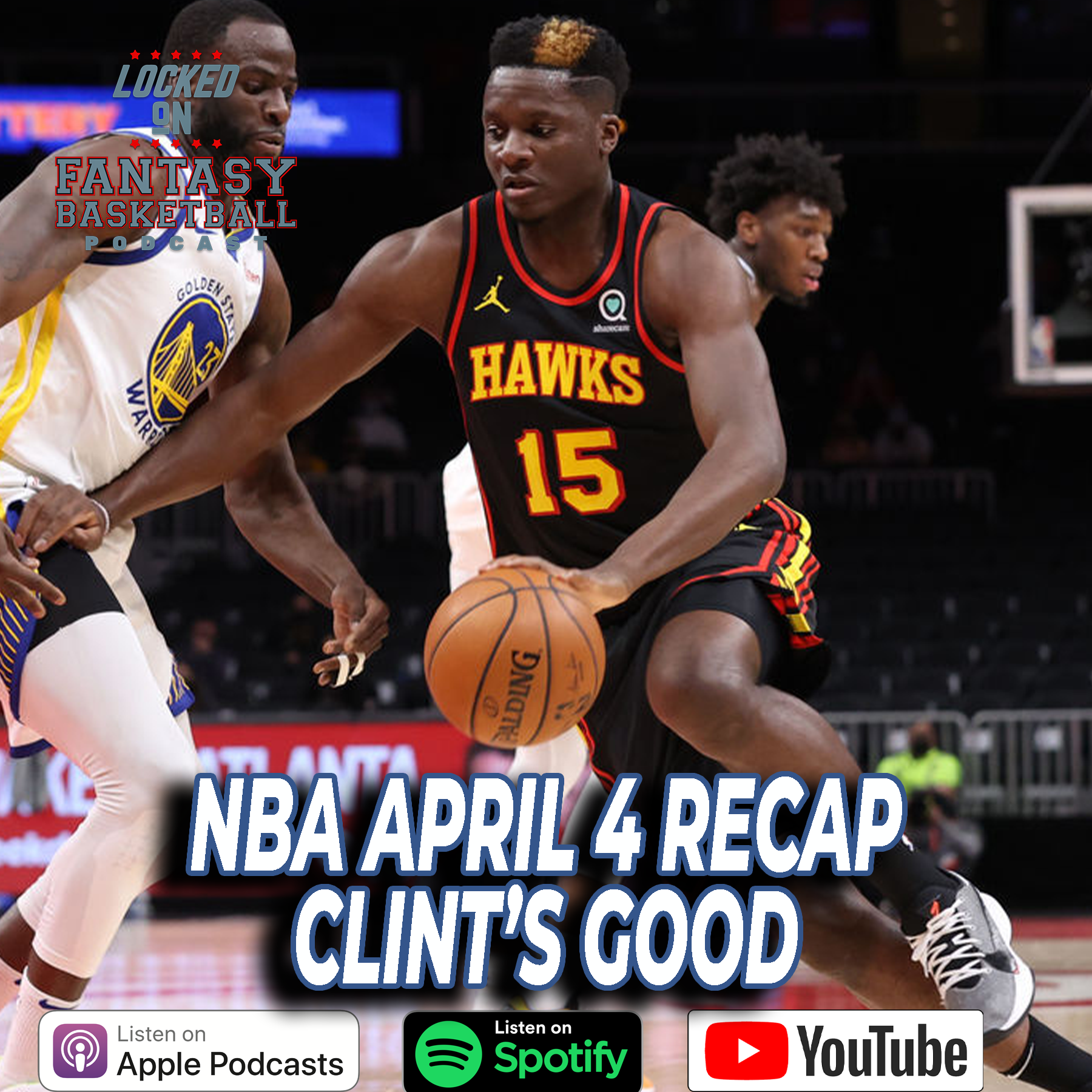 Clint Capela Struts His Stuff | April 4 NBA Recap