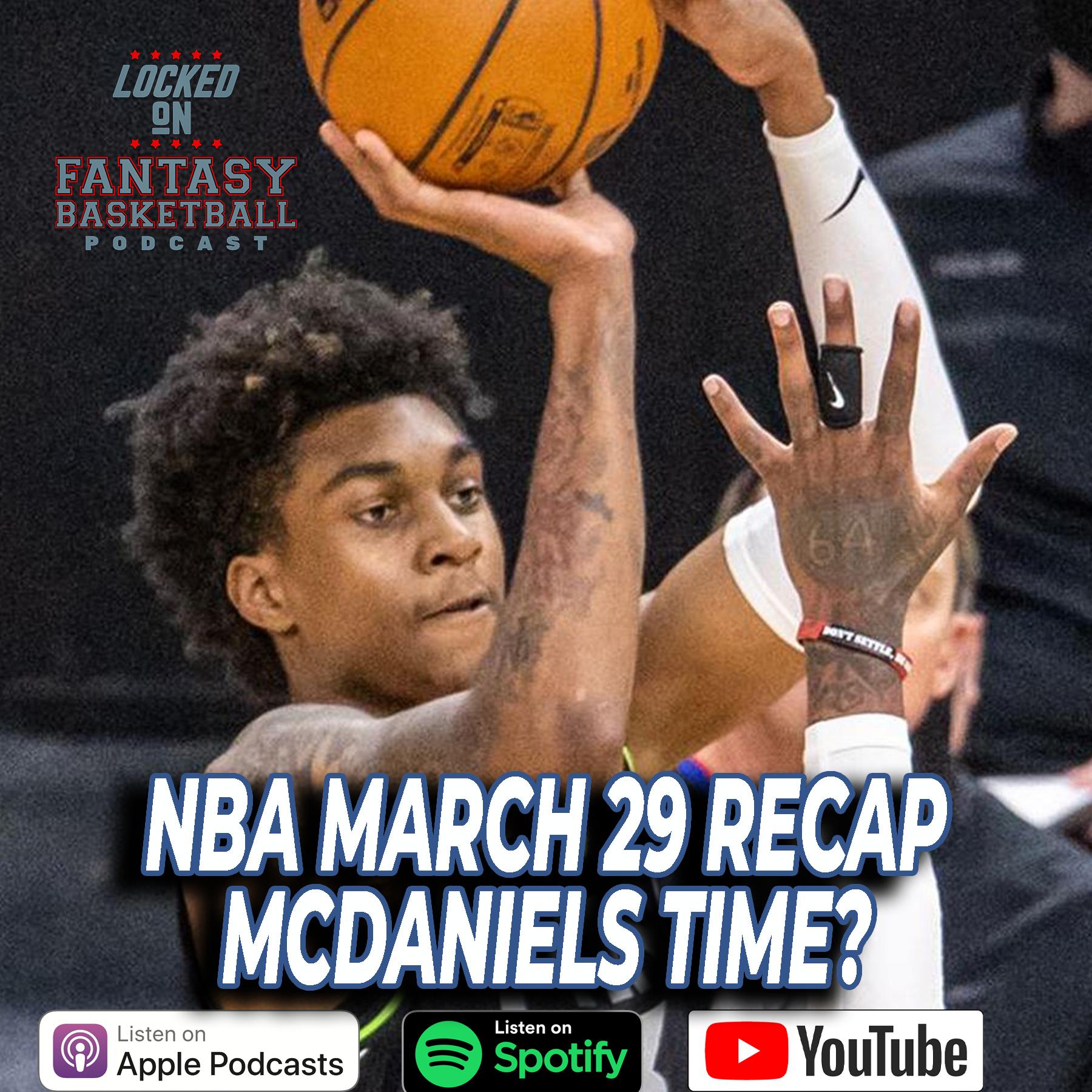 Jaden McDaniels Steps Up For Minnesota | March 29 NBA Recap