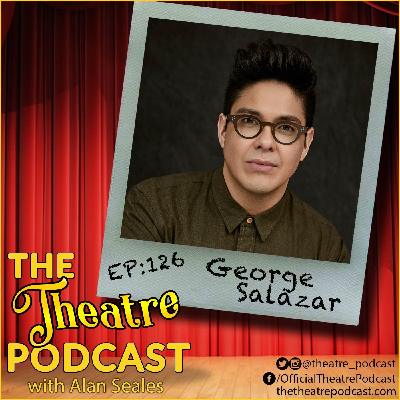 Ep126 - George Salazar: Be More Chill, Percy Jackson, Works & Process at the Guggenheim