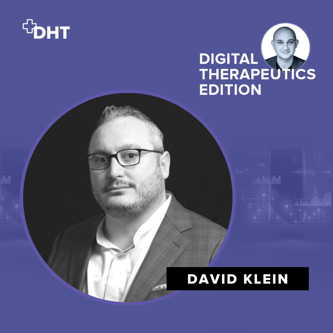 Ep08: Building a DTx Company as a Biotech – Click Therapeutics with David Klein