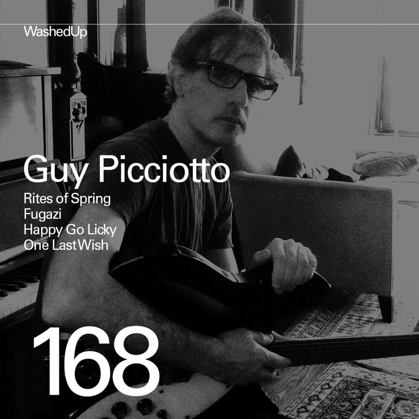 #168 - Guy Picciotto (Rites of Spring, Fugazi)