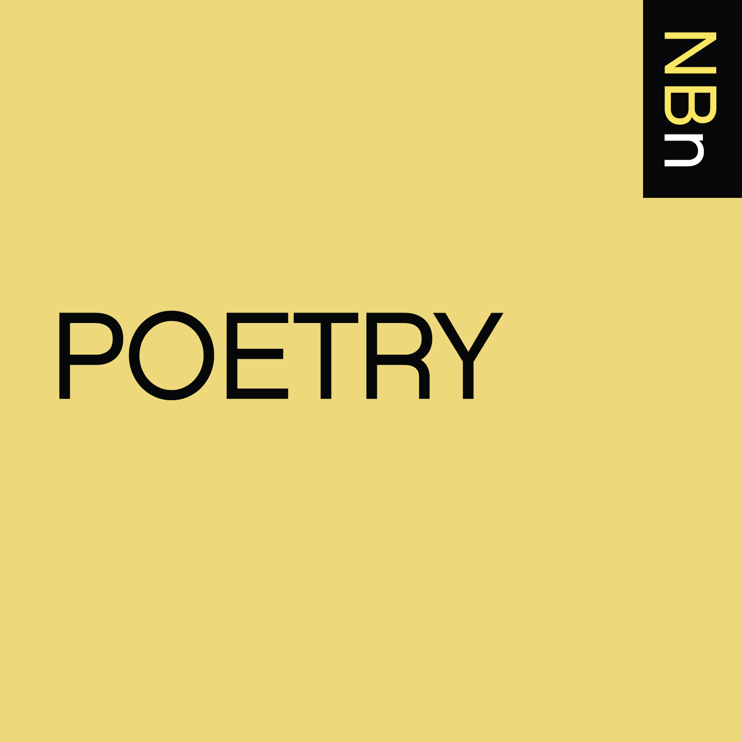 Premium Ad-Free: New Books in Poetry podcast tile