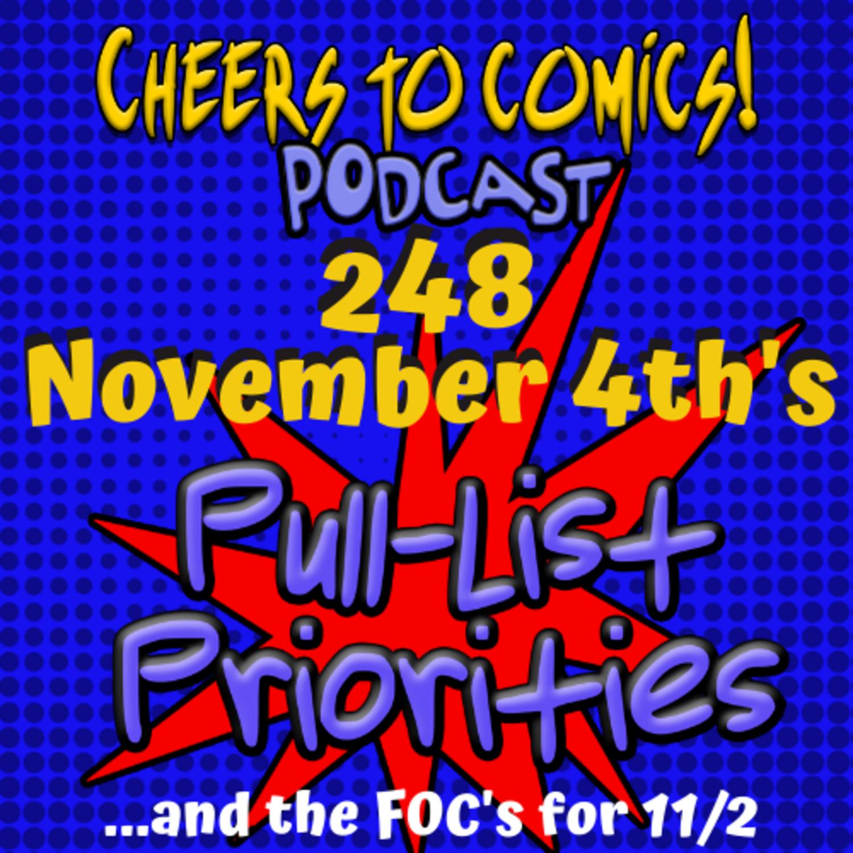 #248- November 4th's Priorities