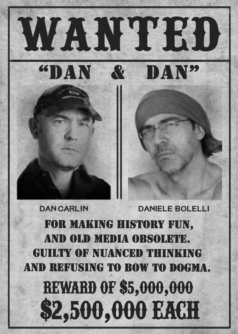 EPISODE 19 Featuring Dan Carlin