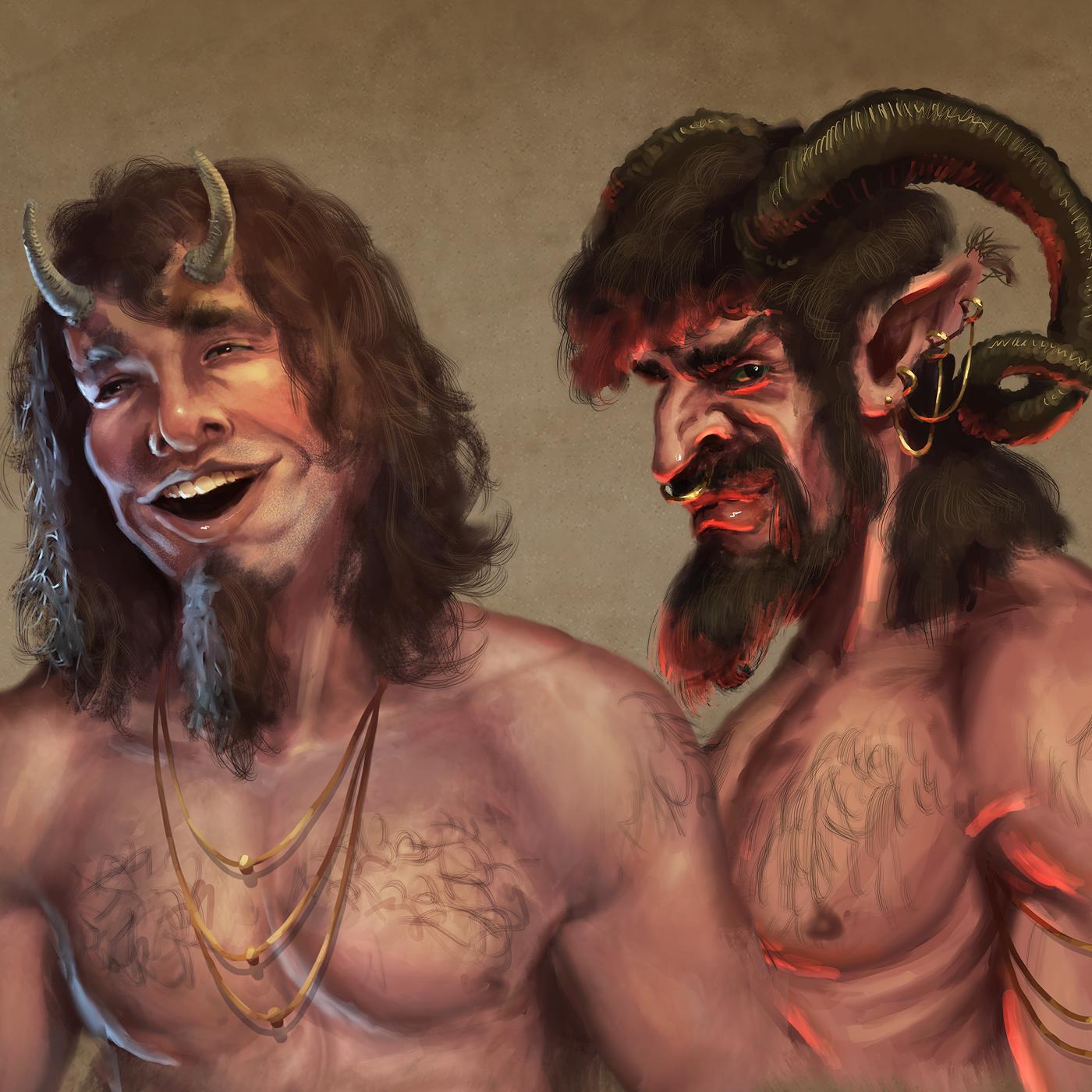 Episode 17: Satyrs & Fauns - The Goatmen of Greek & Roman Mythology