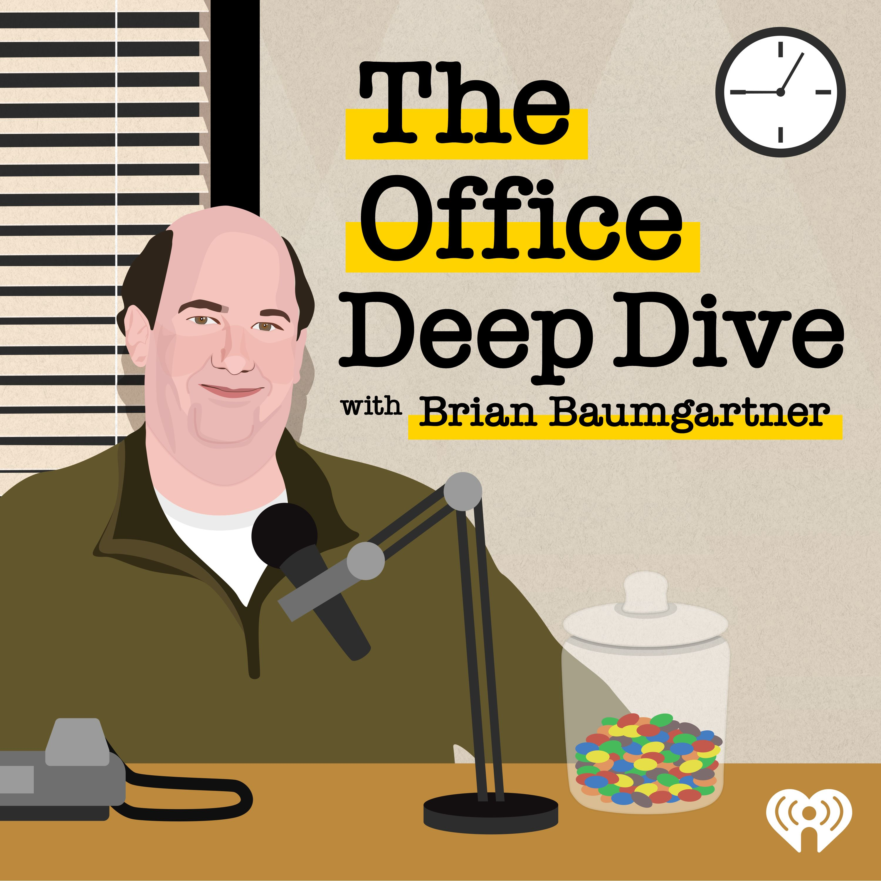 Introducing: 'The Office Deep Dive with Brian Baumgartner'
