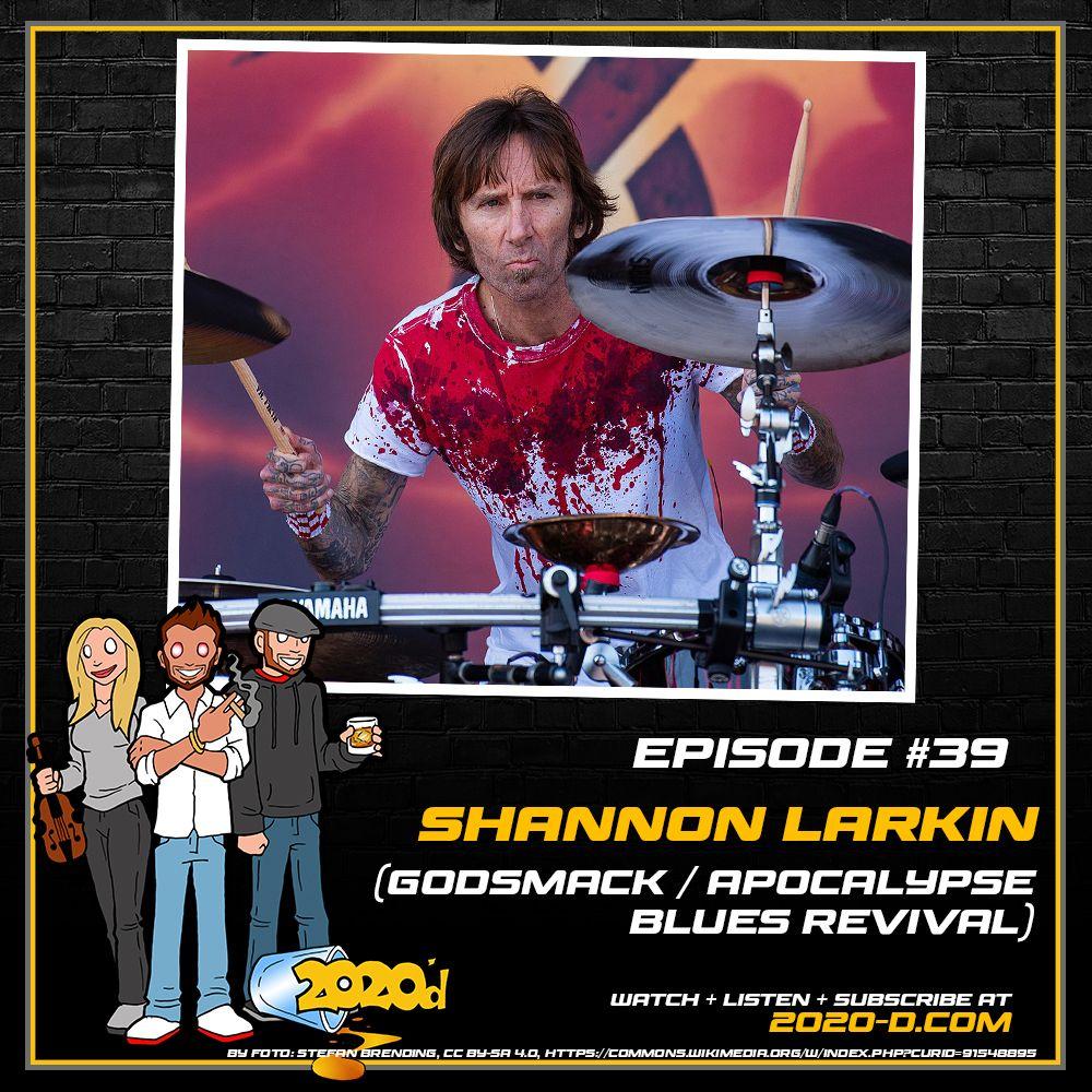 Shannon Larkin:Godsmack's Psychedelic Biker