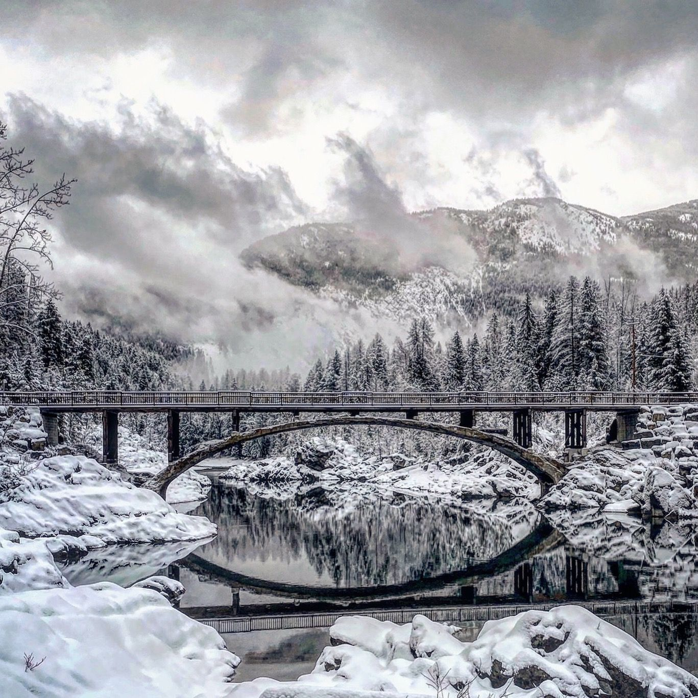 18 Winter in Yellowstone and Glacier National Parks