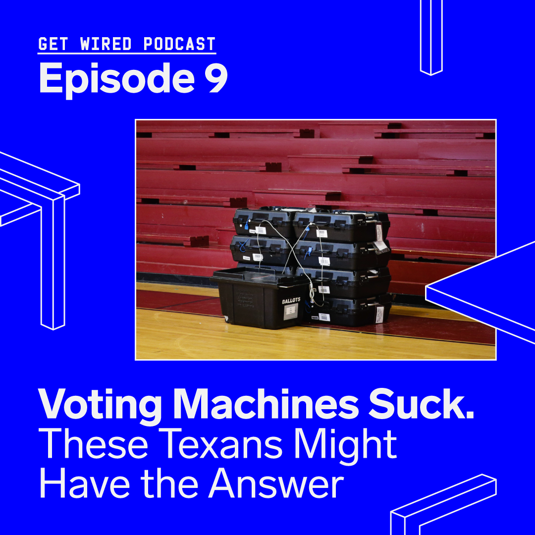 Voting Machines Suck. These Texans Might Have the Answer