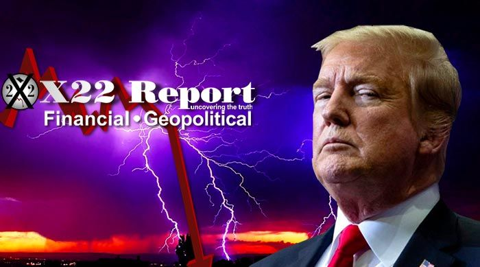 Episode 2240 - Storm Right Behind Trump, It's Coming, Get Ready, Batten Down The Hatches