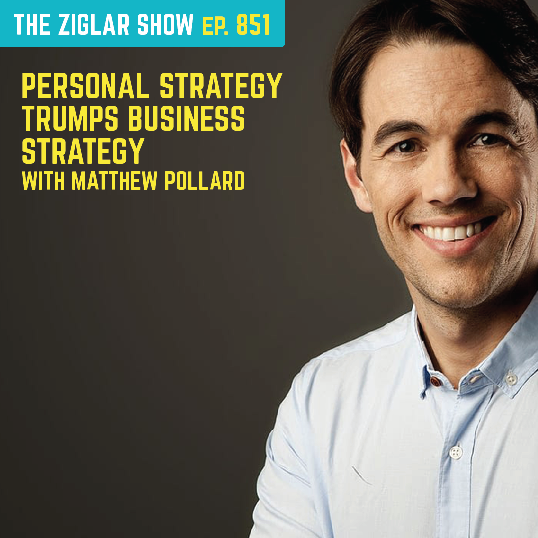 851: Personal Strategy Trumps Business Strategy | Habits with Matthew Pollard