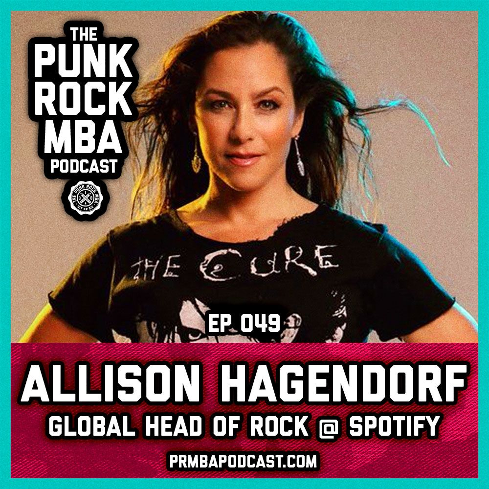 Allison Hagendorf (Global Head of Rock at Spotify)