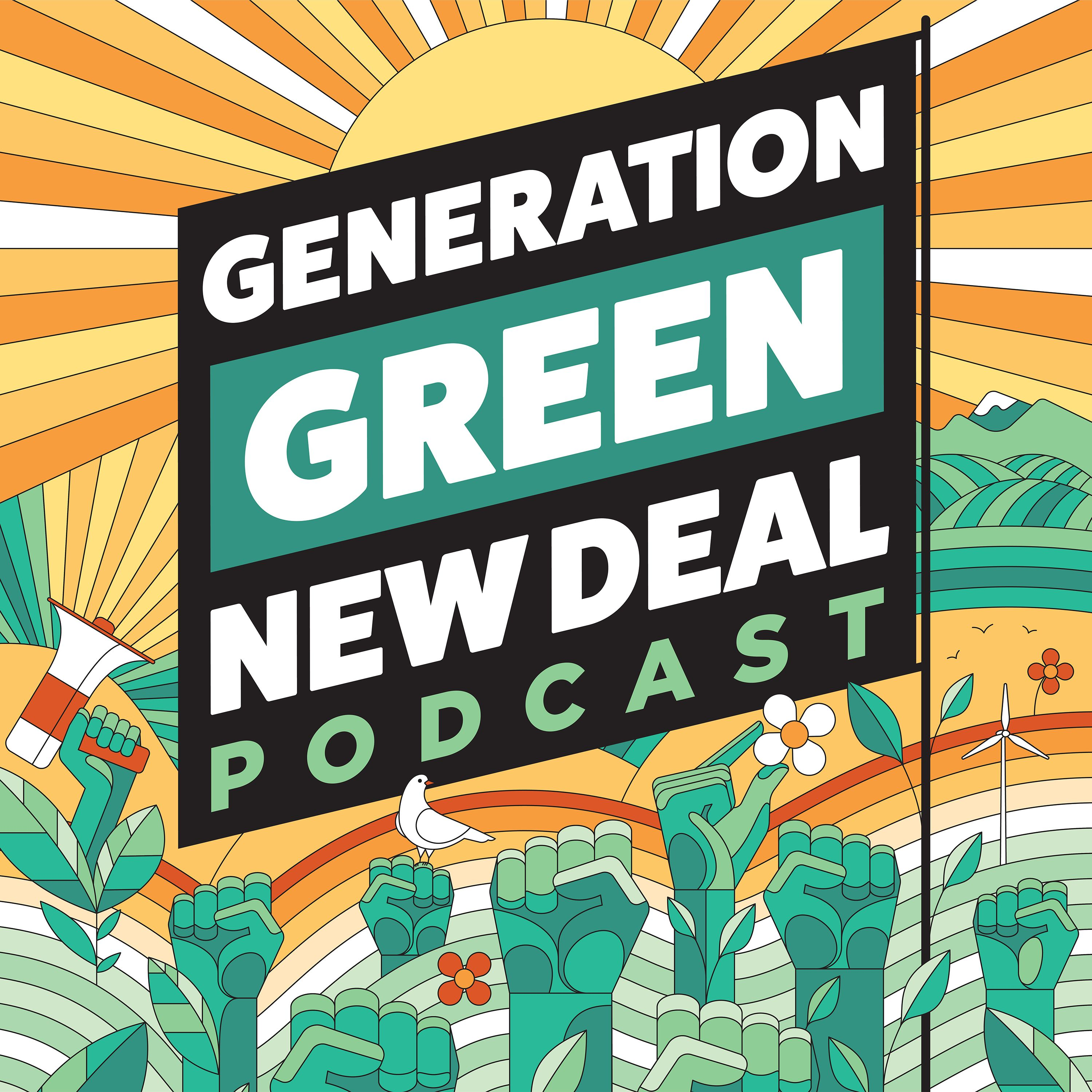 Generation Green New Deal Podcast Image