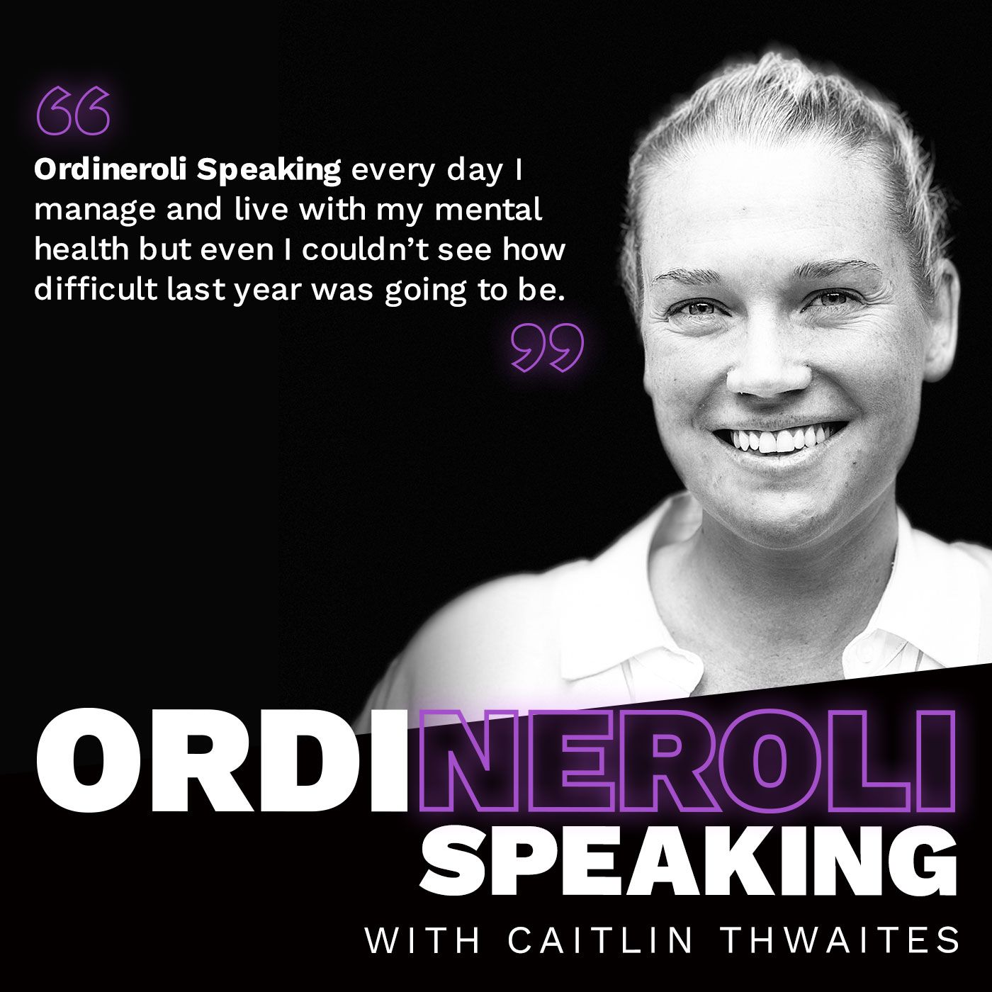 Caitlin Thwaites - Ordineroli Speaking