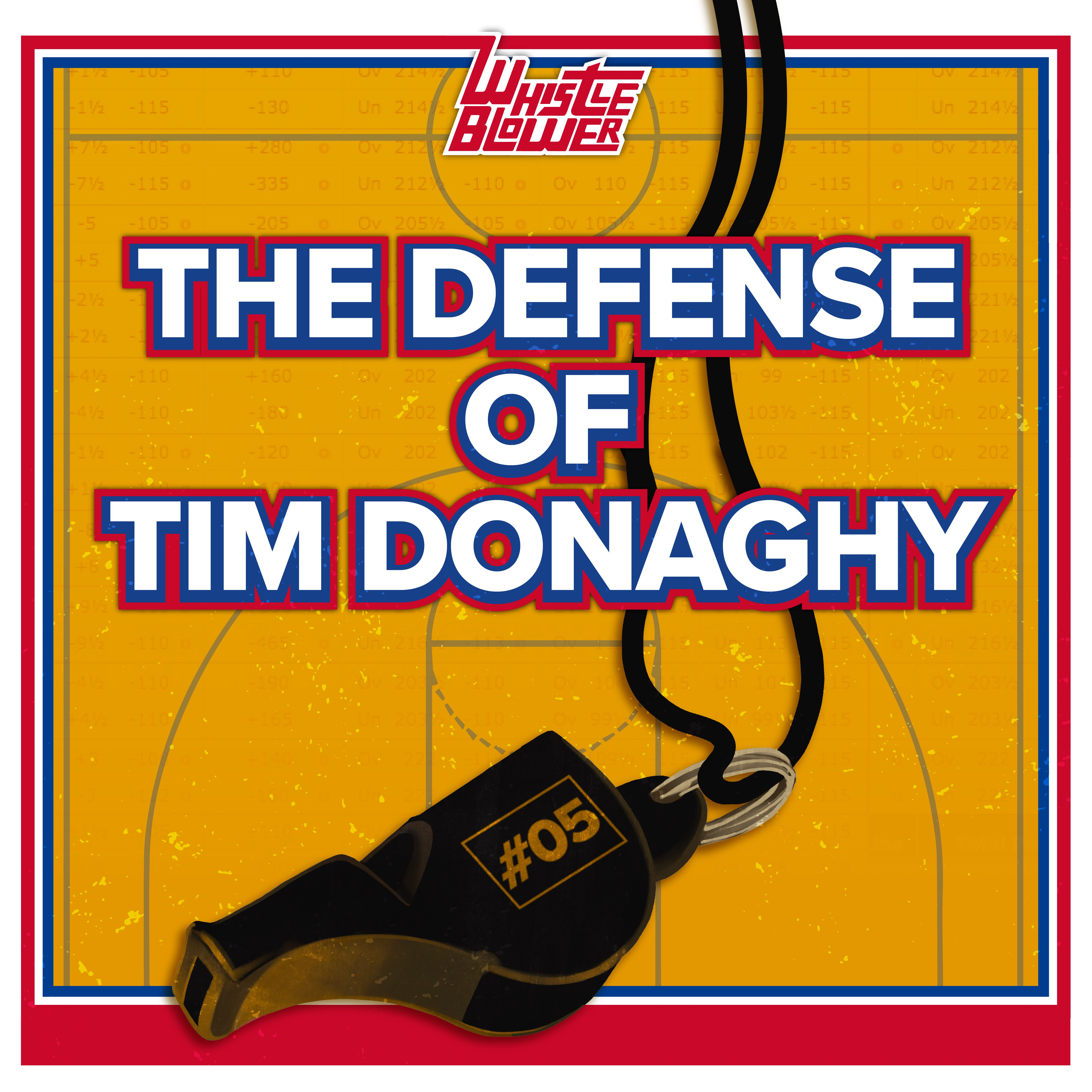 The Defense of Tim Donaghy