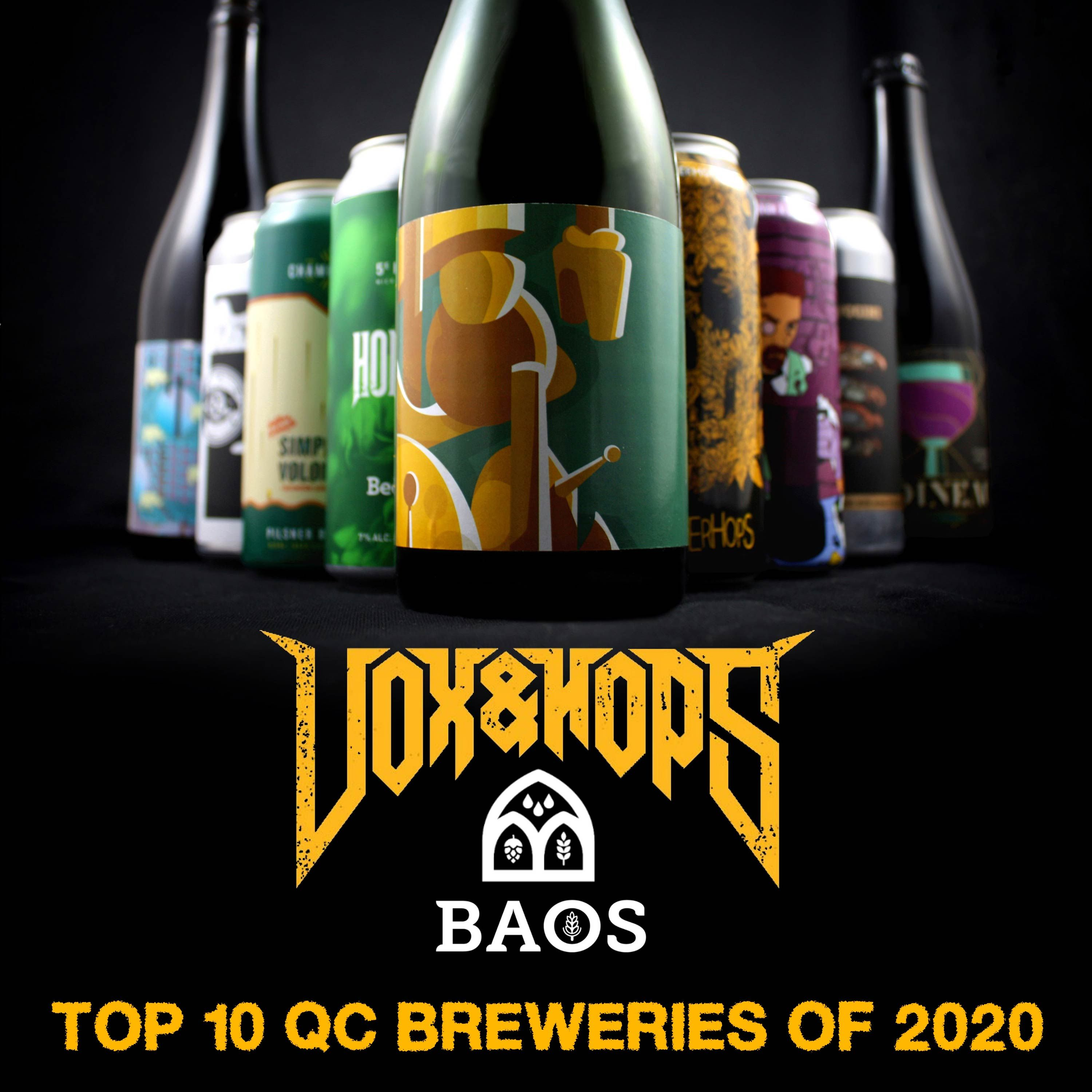 Top 10 Québec Microbreweries of 2020 with Craig Thorn (BAOS Podcast) & Noah Forrest (Beerism)