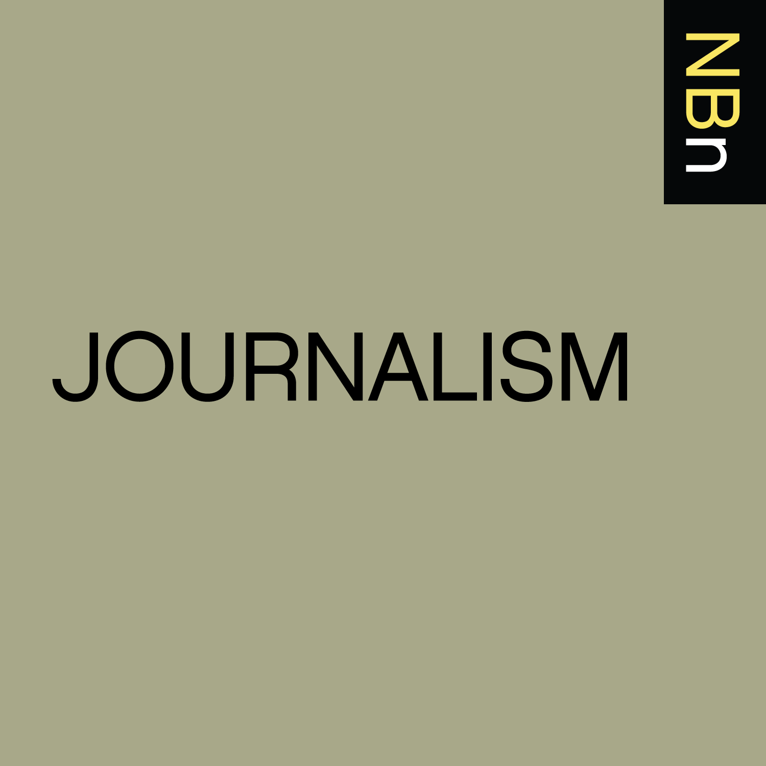 Premium Ad-Free: New Books in Journalism podcast tile