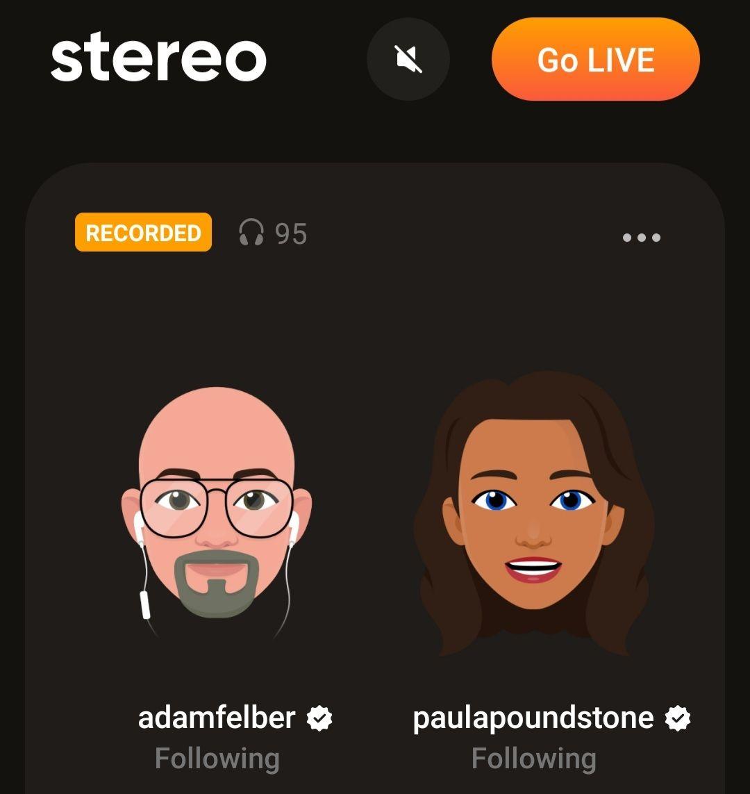 Paula and Adam LIVE on Stereo!
