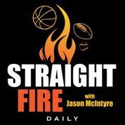 Straight Fire-No More College Football, Giannis Cracks Under Pressure & Colin Cowherd