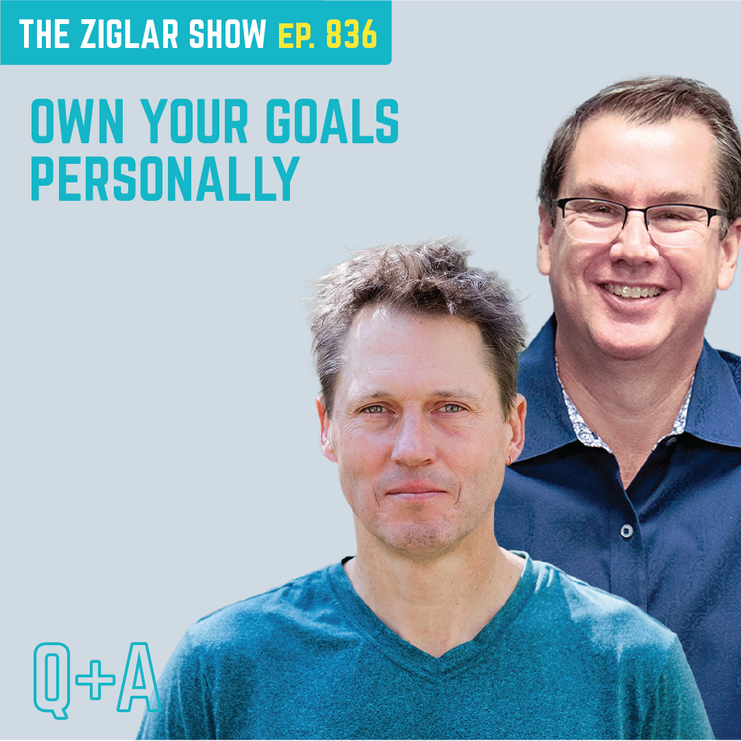 836: Own Your Goals Personally