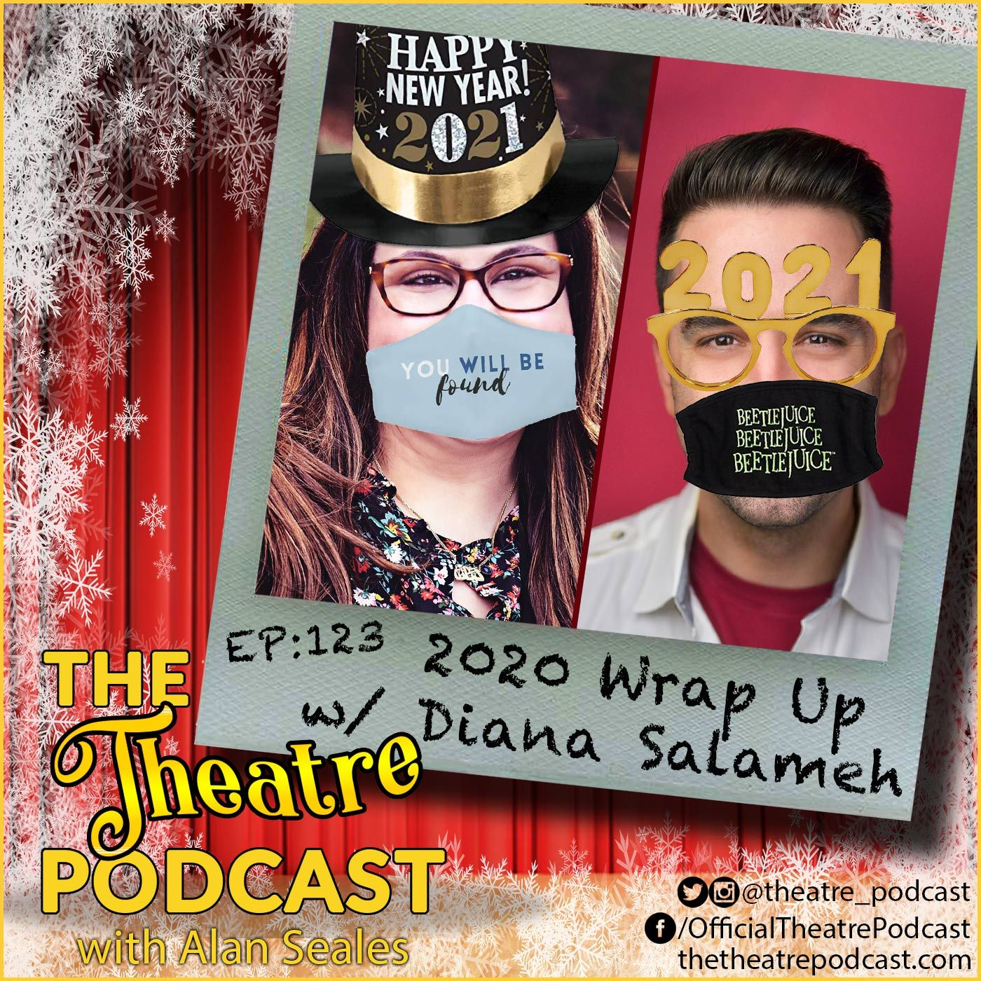 Ep123 - 2020 {C,W}rap up with Alan Seales and Diana Salameh