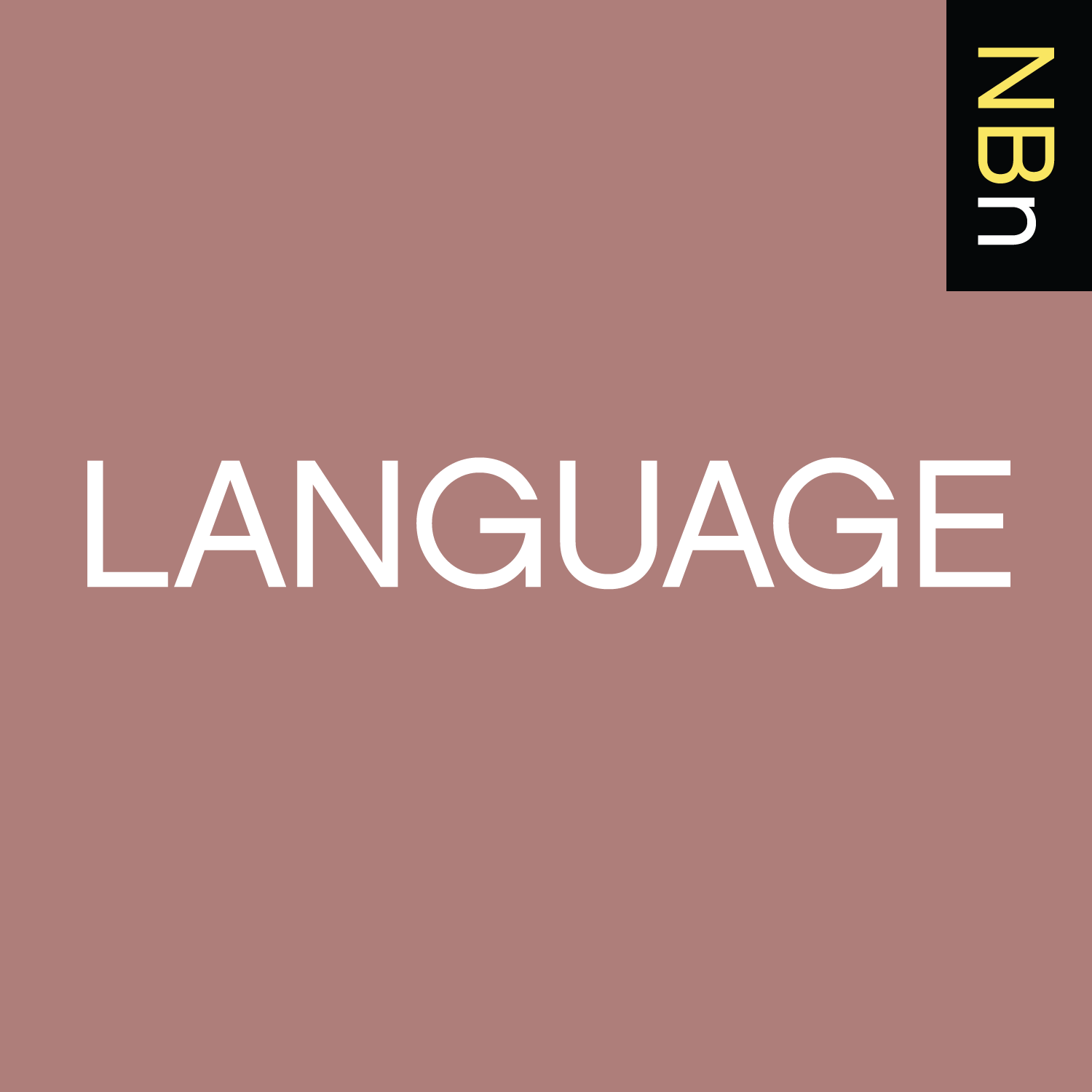 New Books in Language podcast tile