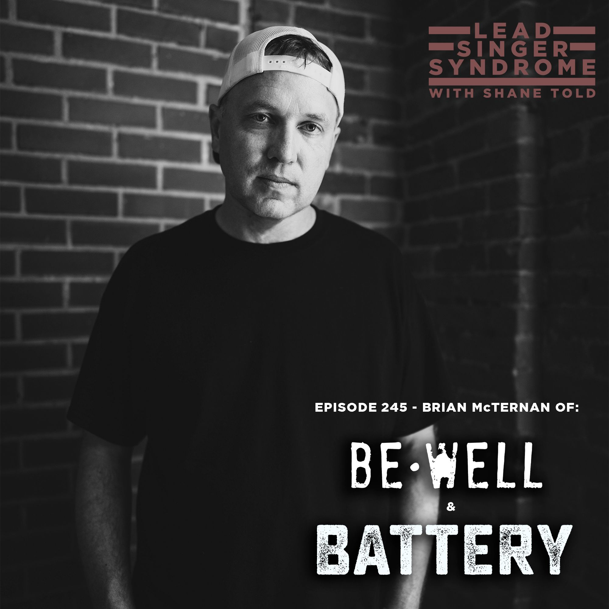 Brian McTernan (Record Producer and vocalist for Be Well and Battery)