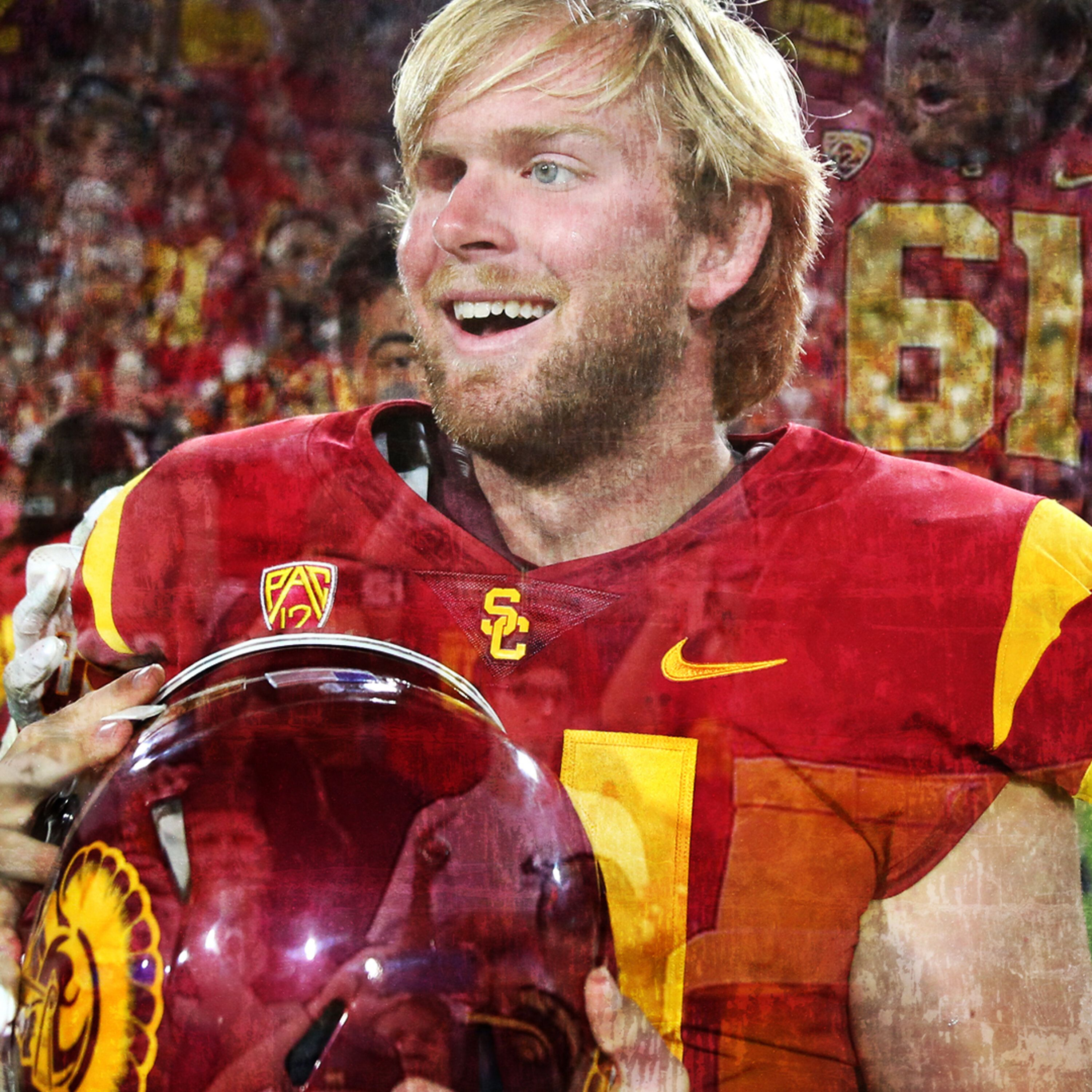 Jake Olson: Blind USC Football Longsnapper, First Completely Blind Football Player to Play in a Division I Game