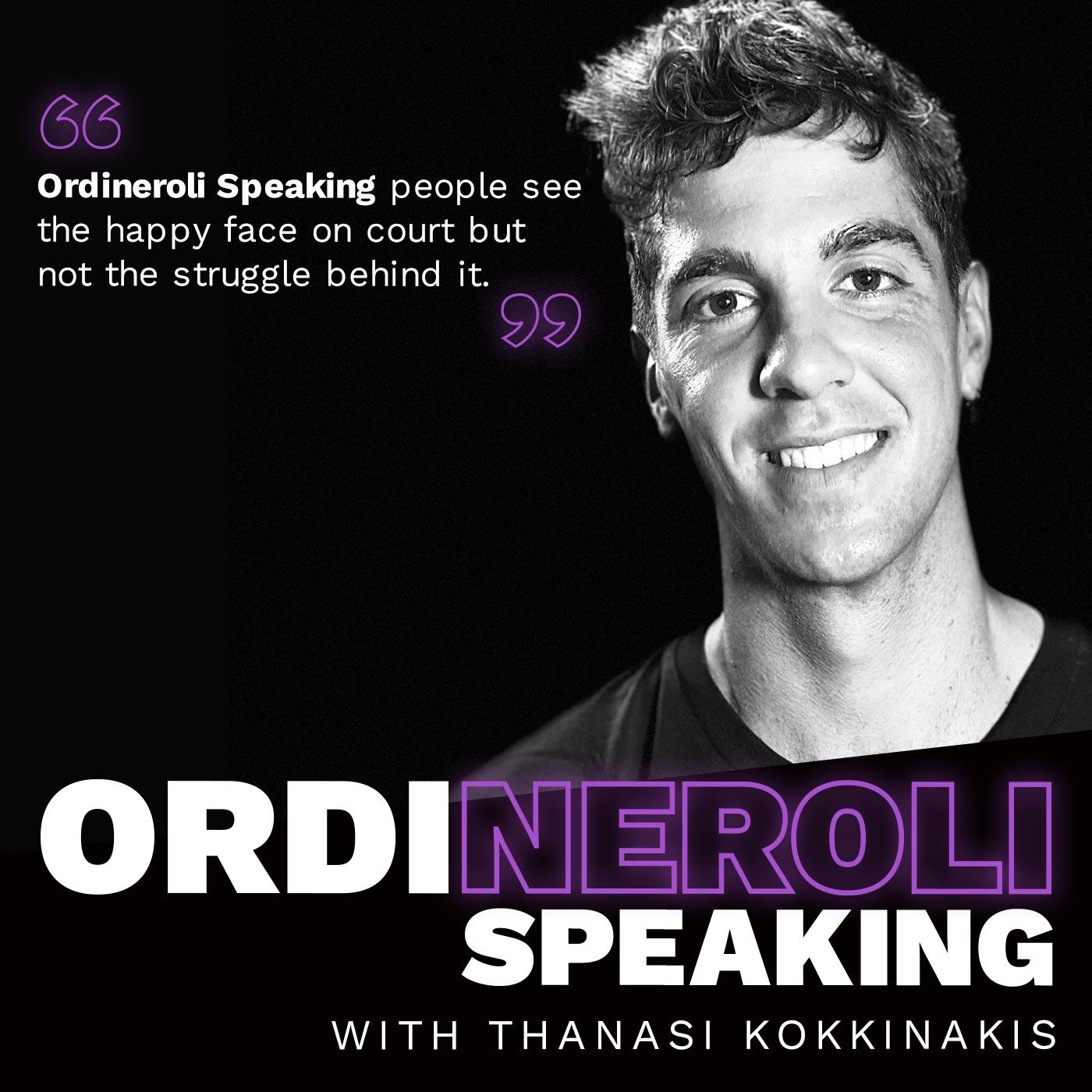 Thanasi Kokkinakis - Ordineroli Speaking