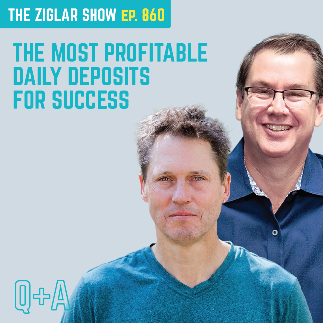 860: The Most Profitable Daily Deposits For Success