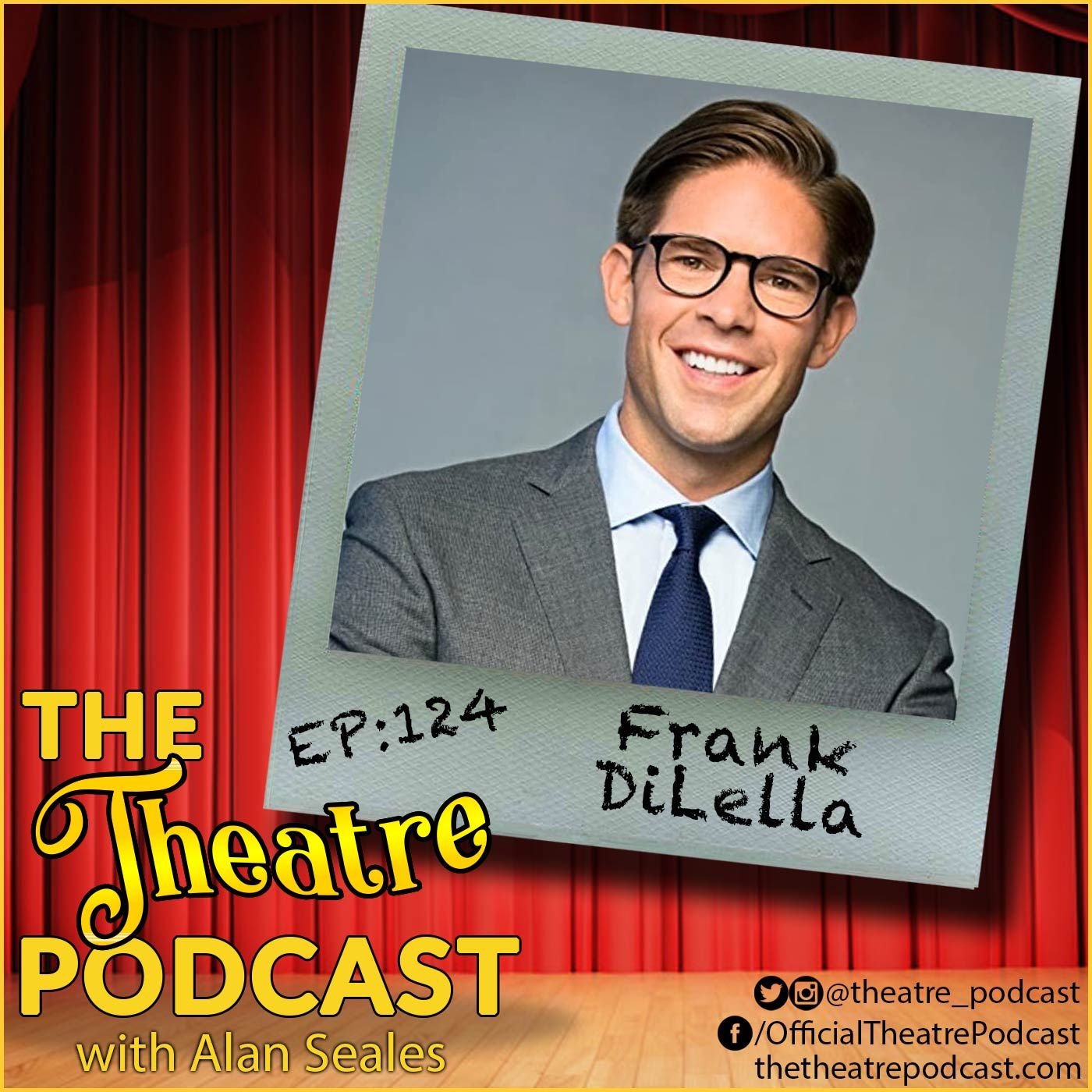 """Ep124 - Frank DiLella: Emmy Award-winning host of """"On Stage"""" on Spectrum News NY1"""