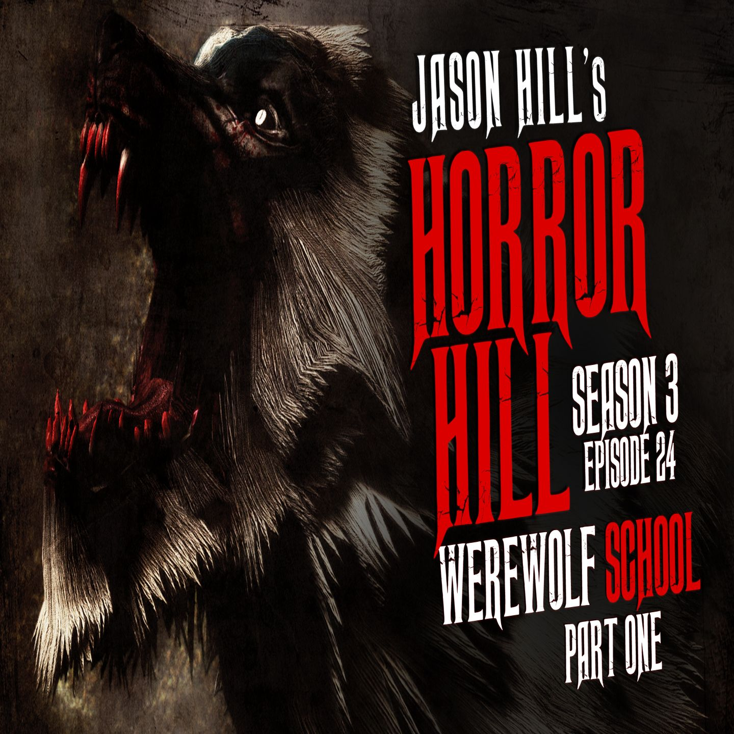 "S3E24 – ""Werewolf School (Part 1)"" – Horror Hill"
