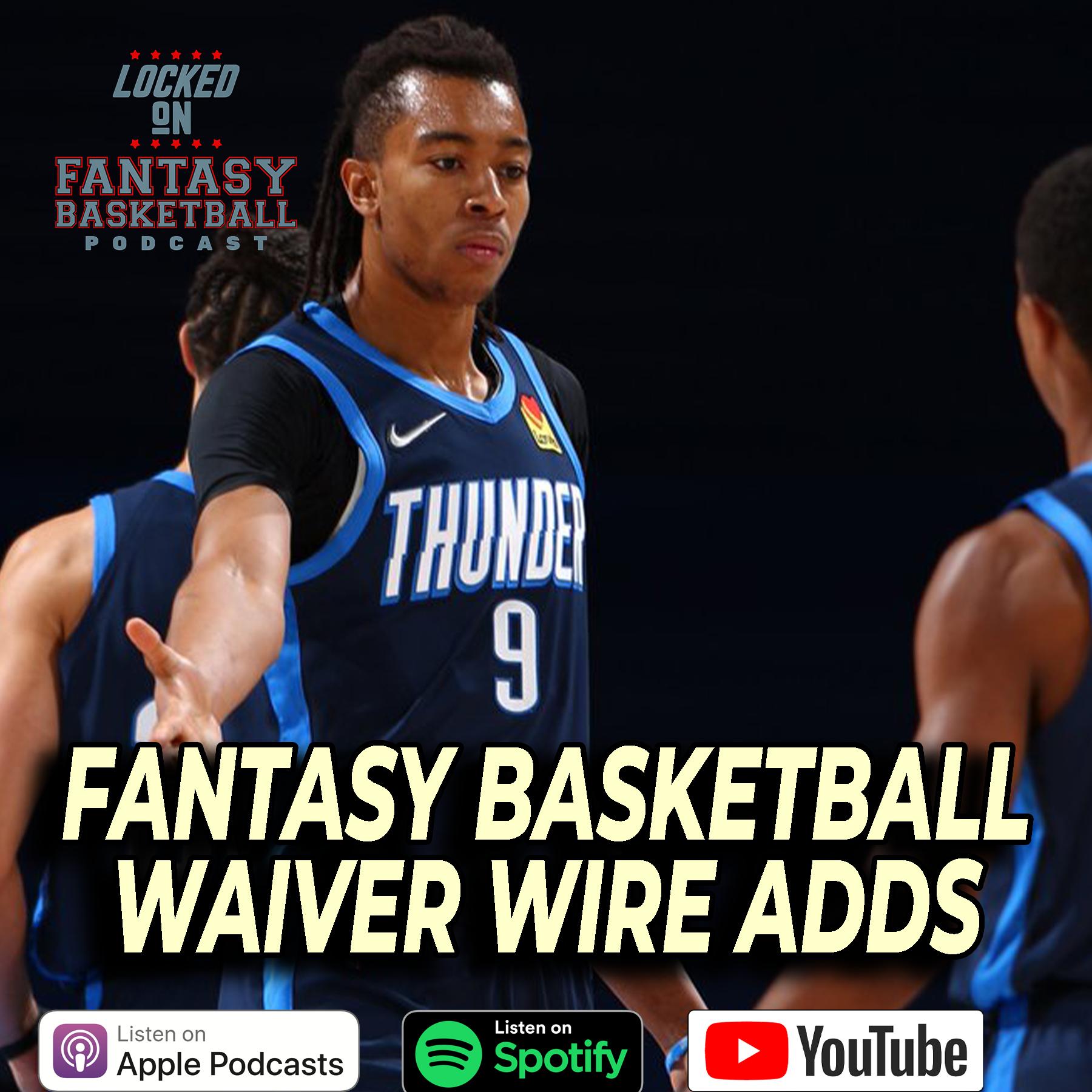 NBA Fantasy Basketball Waiver Wire Targets & Drops Week 14 | Hello Moses Brown