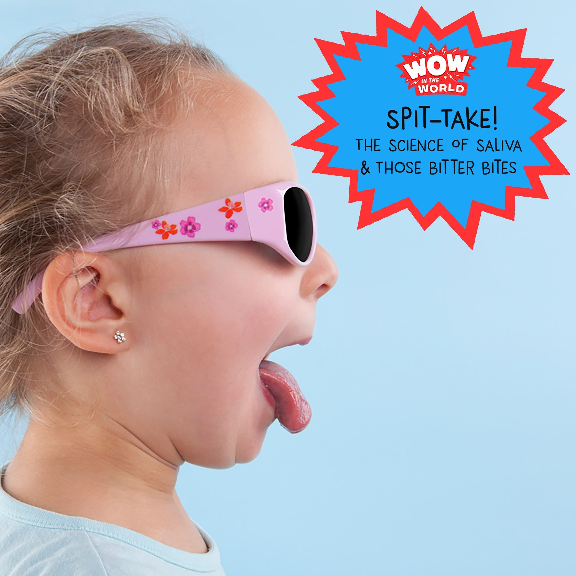 Spit-Take! The Science Of Saliva And Those Bitter Bites (encore)