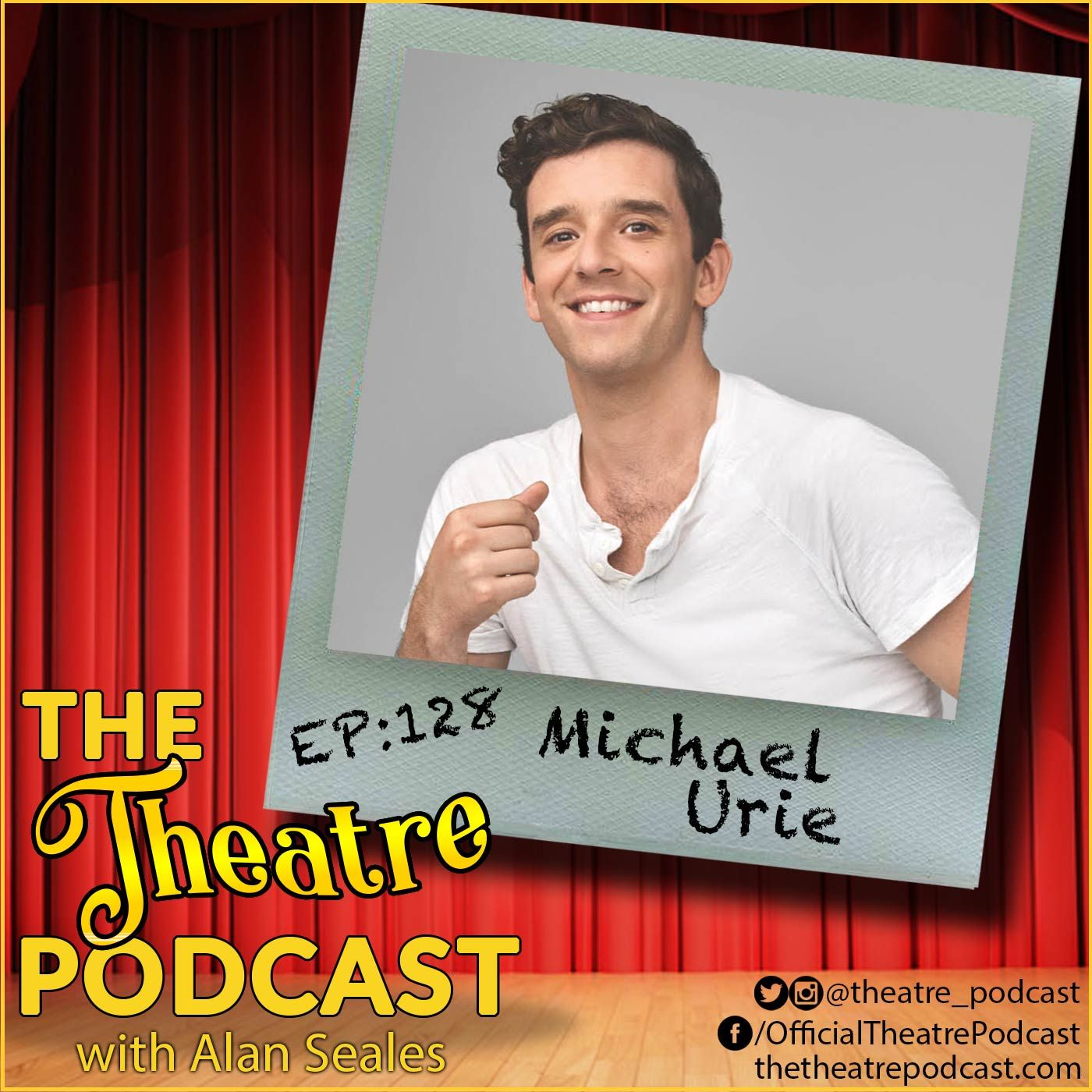 Ep128 - Michael Urie: Ugly Betty, Torch Song, Grand Horizons