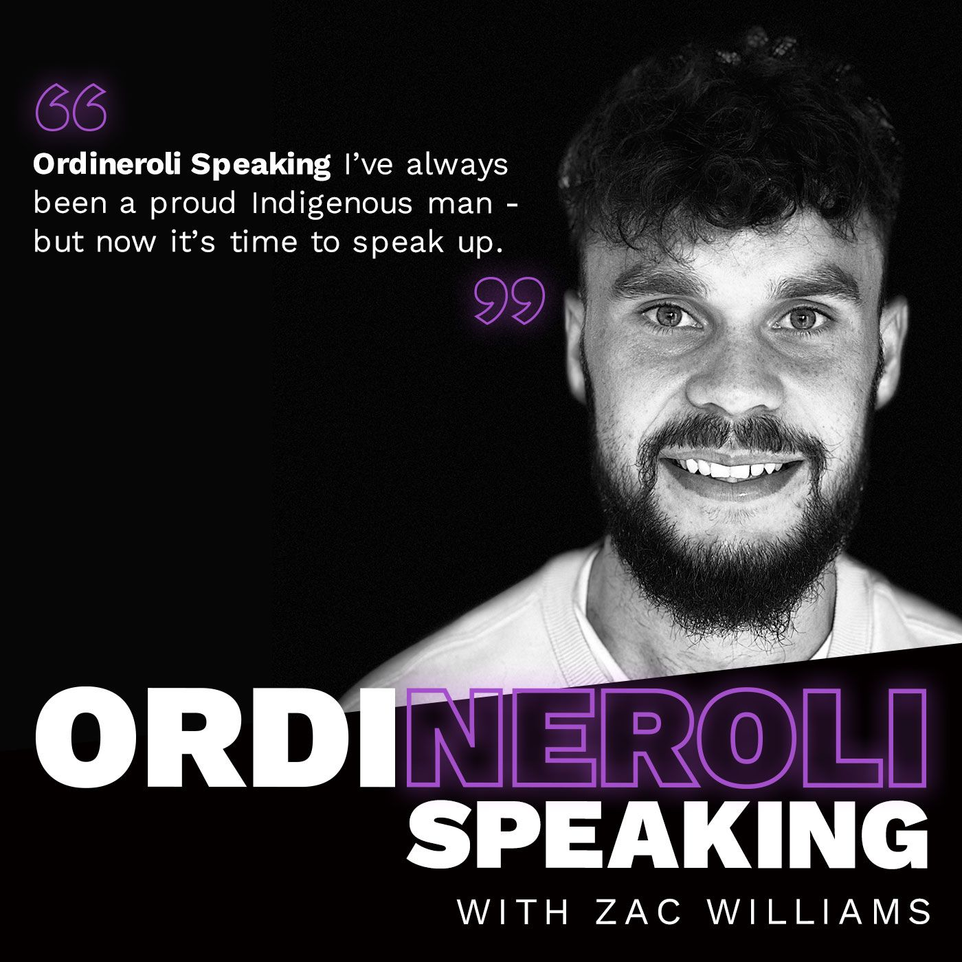 Zac Williams - Ordineroli Speaking