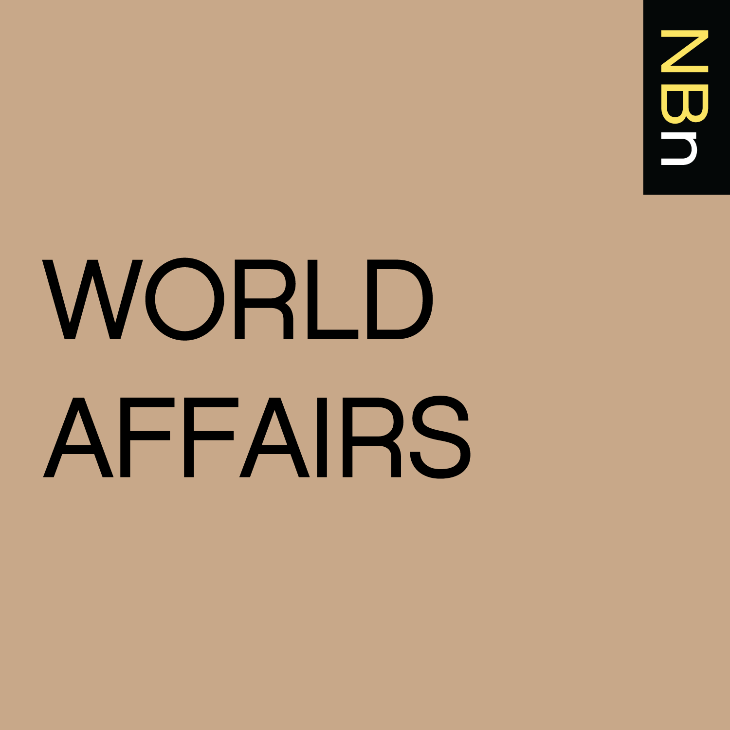 New Books in World Affairs podcast tile