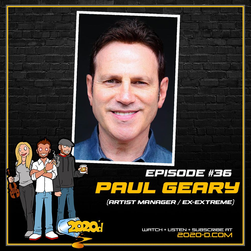 Paul Geary: Managing Godsmack, Joe Perry, Johnny Depp and More