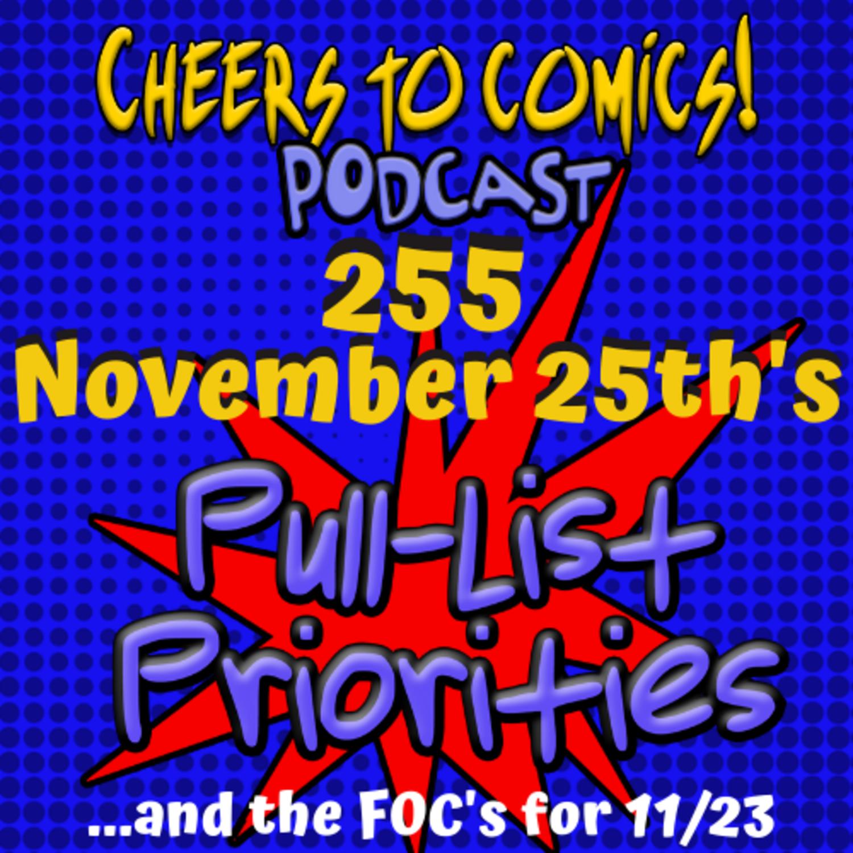 #255- November 25th's Priorities