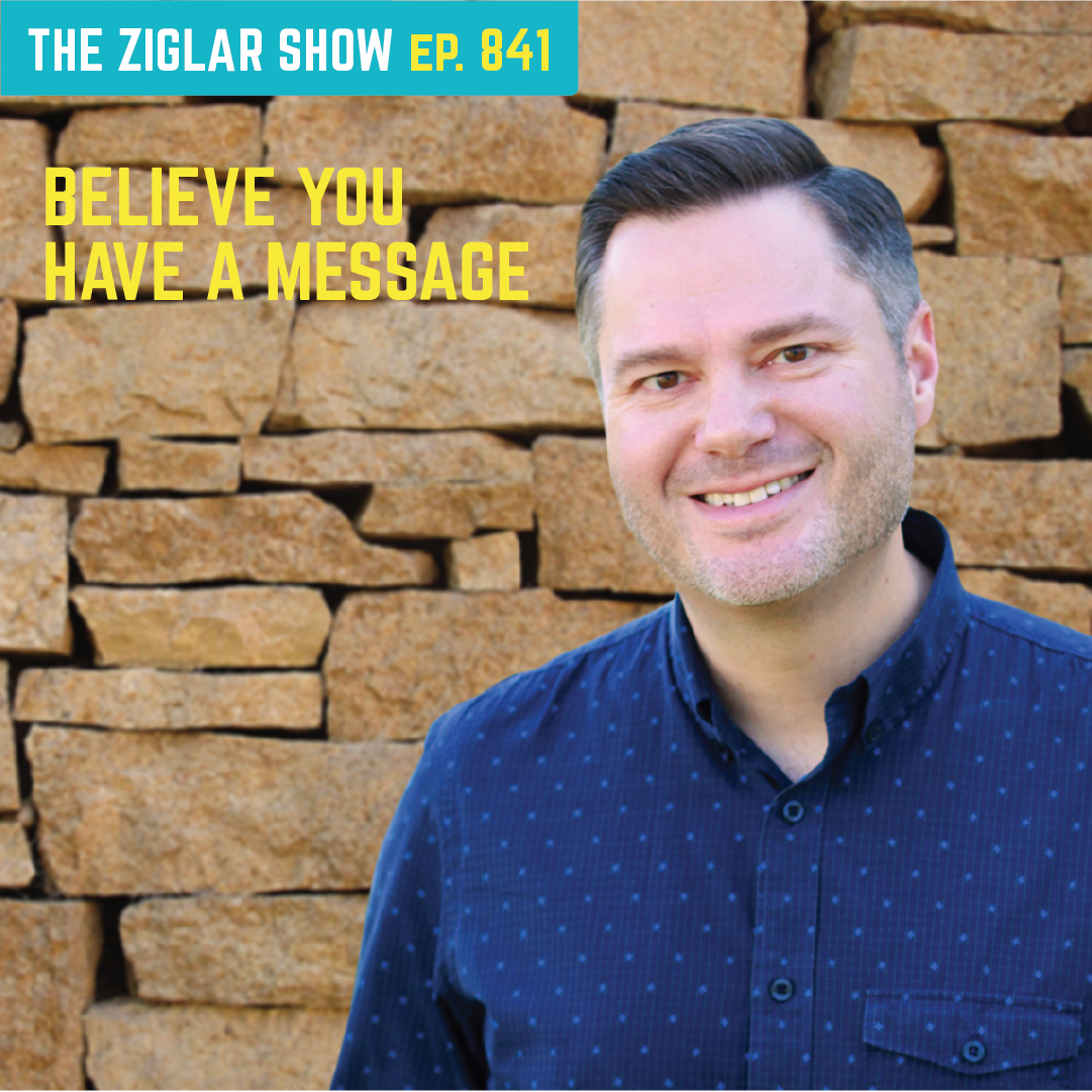 841: Believe You Have A Message | Jonathan Milligan