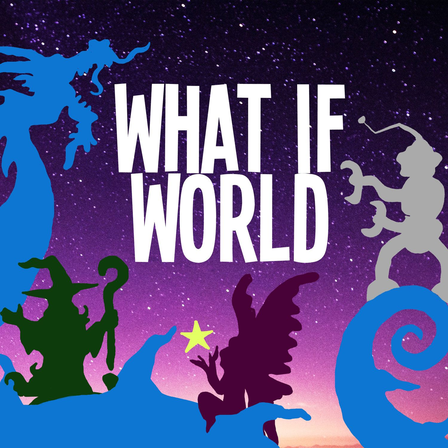 """""""What If World - Stories for Kids"""" Podcast"""