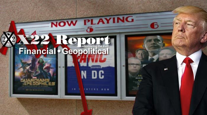 Episode 2243 - It's Show Time, The Swamp Is Being Exposed For All To See,My Fellow Americans..